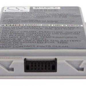 Macbook G4 15 A1078 akku 4400 mAh musta