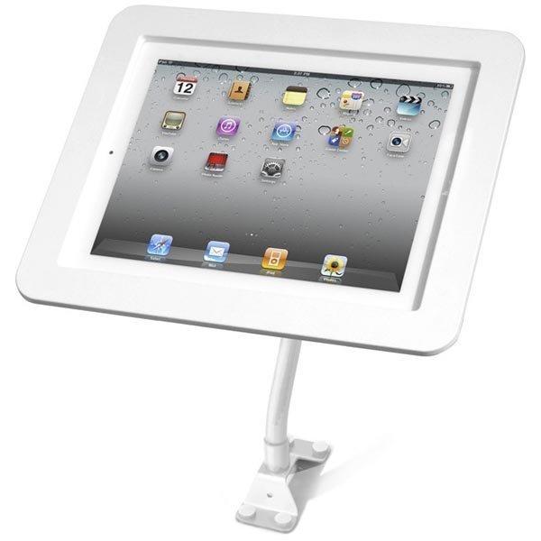 Maclocks Flex Arm teline iPadille taipuisa kannatusvarsi valkoinen