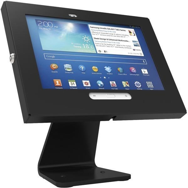 Maclocks Galaxy Tab3 Enclosure 360 AIO pöytäteline Tab 3:lle musta