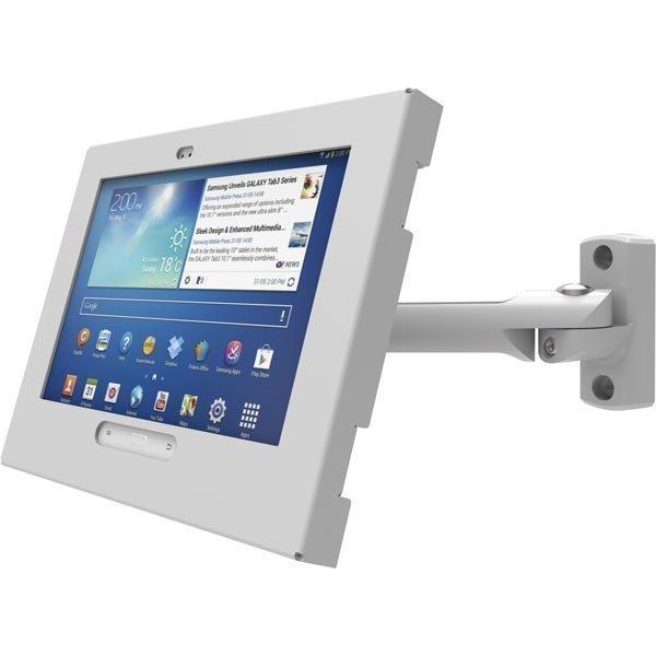 Maclocks Galaxy Tab3 Enclosure Swing Arm seinäkiinnike Tab 3 mu/va