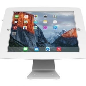 Maclocks Ipad Secure Space Enclosure With Rotating 360° Kiosk White