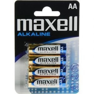 Maxell Alkaline Battery 4pcs Aa Lr06