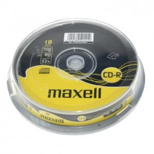 Maxell Cd-R80 52x 10 Kpl Spindle