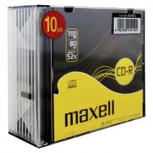 Maxell Cd-R80 Xl 10 Kpl