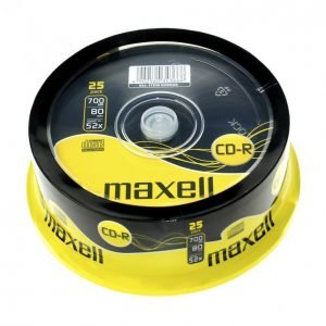 Maxell Cd-R80 Xl 25 Kpl