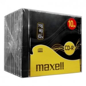 Maxell Cd-R80 Xl-S 10 Kpl