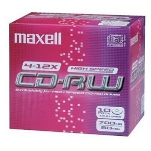 Maxell Cd-rw X 10