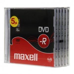 Maxell Dvd-R 5 Kpl 16x