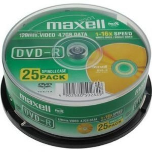Maxell Dvd-r X 25