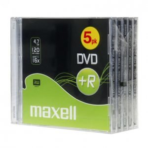 Maxell Dvd+R 5 Kpl 16x