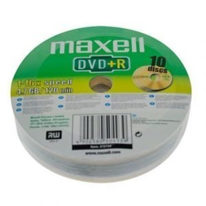 Maxell Dvd+r X 10