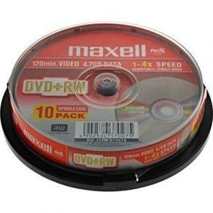 Maxell Dvd+rw X 10