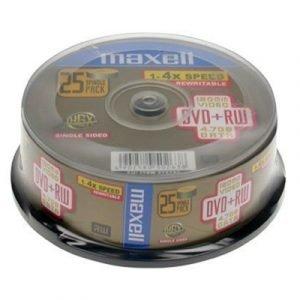 Maxell Dvd+rw X 25