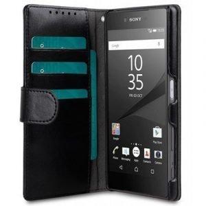 Melkco Walletcase Book Sony Xperia Z5 Musta
