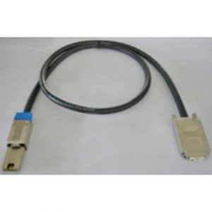 Microconnect Sas External Cable 26 Nastainen 4x Shielded Mini Multilane Sas (sff-8088) 4x Infiniband (sff-8470) Musta 2m