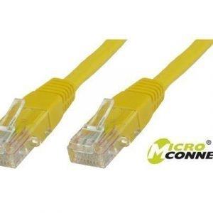 Microconnect Verkon Kaapeli Cat 6 Keltainen 30m