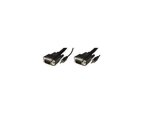 Microconnect Vga- / Audiokaapeli 15-nastainen Hd D-sub (hd-15) Miniliitin: 3