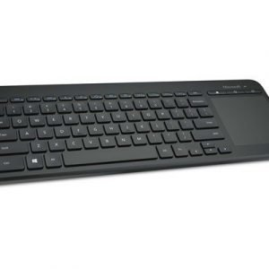 Microsoft All-in-one Media Keyboard With Integrated Multi-touch Trackpad