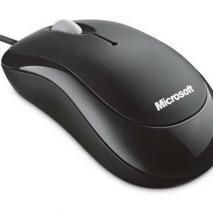 Microsoft Basic Optical Mouse Optinen Hiiri Musta