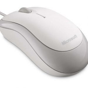 Microsoft Basic Optical Mouse Optinen Hiiri Valkoinen