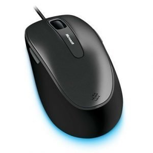 Microsoft Comfort Mouse 4500 For Business Optinen Hiiri Musta Antrasiitti