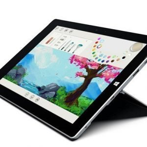 Microsoft Surface 3 10.8 128gb Musta Hopea Harmaa