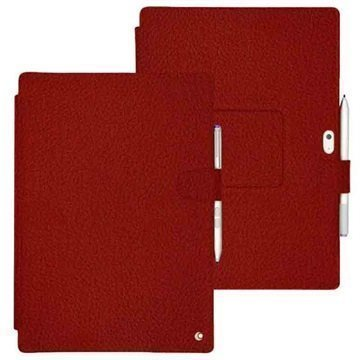 Microsoft Surface 3 Noreve Tradition B Leather Case Ambition TomateÂ