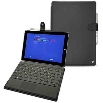 Microsoft Surface 3 Noreve Tradition B Nahkakotelo Perpétuelle Musta
