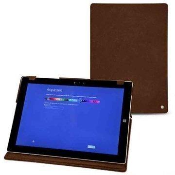 Microsoft Surface 3 Noreve Tradition Nahkakotelo Exception Soopelinruskea Vintage