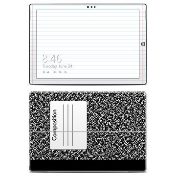 Microsoft Surface Pro 3 Composition Notebook Skin