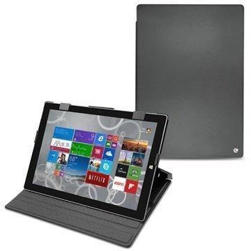 Microsoft Surface Pro 3 Noreve Tradition Nahkakotelo Perpétuelle Musta