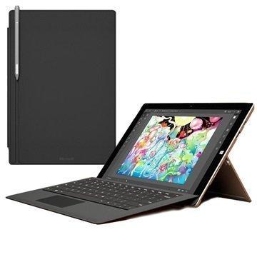 Microsoft Surface Pro 3 Surface Pro 4 Näppäimistökuori Musta