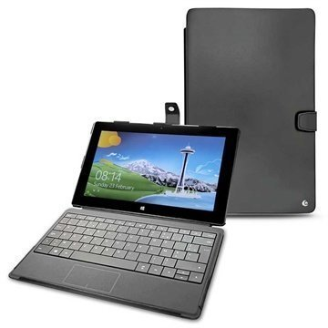 Microsoft Surface Pro Noreve Tradition B Nahkakotelo Musta