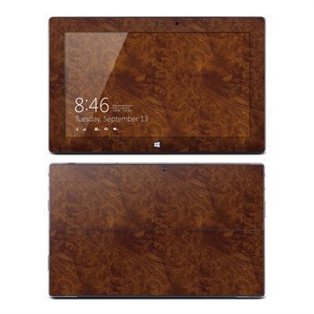Microsoft Surface Pro Pro 2 Dark Burlwood Skin