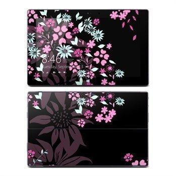 Microsoft Surface Pro Pro 2 Dark Flowers Skin