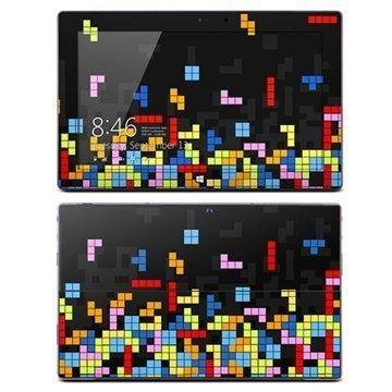 Microsoft Surface Pro Pro 2 DecalGirl Collective Suojakalvo Tetris