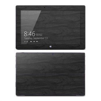 Microsoft Surface RT Black Woodgrain Skin