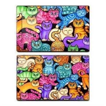 Microsoft Surface RT Colorful Kittens Skin