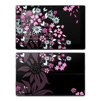 Microsoft Surface RT Dark Flowers Skin