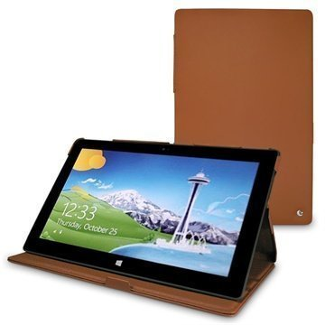 Microsoft Surface RT Noreve Tradition Leather Case Brown