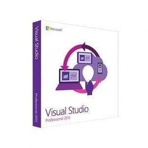 Microsoft Visual Studio Professional 2015 Lisenssi Microsoft Single Language