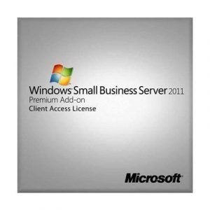 Microsoft Windows Small Business Server 2011 Premium Add-on 5 User Cal Suite