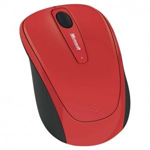 Microsoft Wireless 3500 Red Hiiri