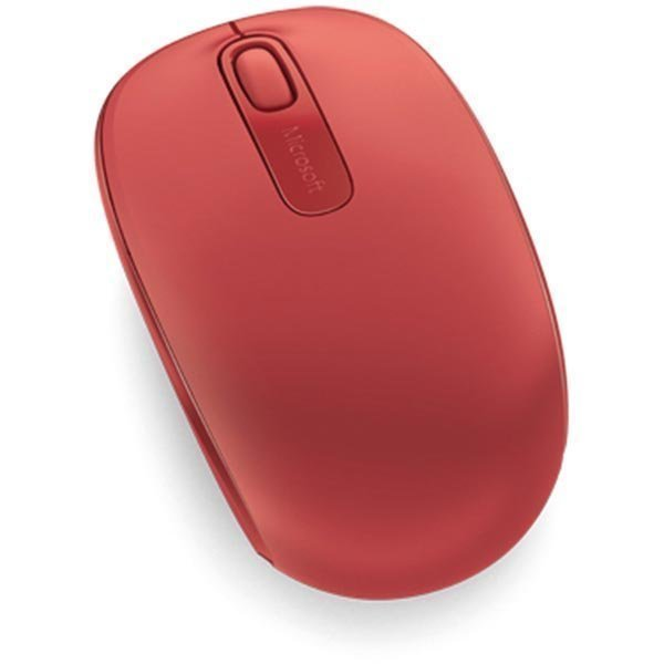 Microsoft Wireless Mobile Mouse 1850 2painiketta+rulla punainen