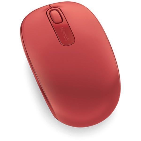 Microsoft Wireless Mobile Mouse 1850 2painiketta+rulla punainen