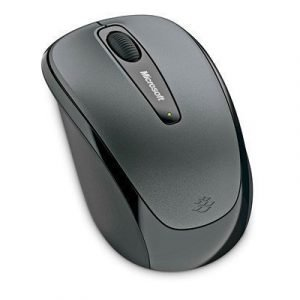 Microsoft Wireless Mobile Mouse 3500 Optinen Hiiri Lochness Gray