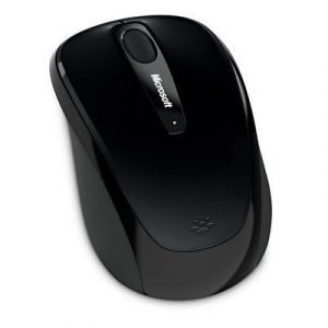 Microsoft Wireless Mobile Mouse 3500 Optinen Hiiri Musta