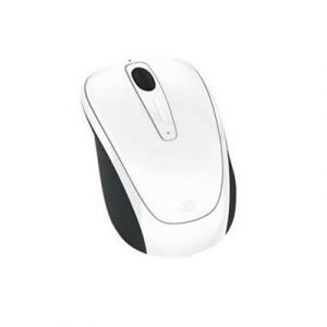 Microsoft Wireless Mobile Mouse 3500 Optinen Hiiri Valkoinen Kiilto