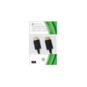 Microsoft Xbox 360 Hdmi Av Cable 19-nastainen Hdmi Tyyppi A Uros 19-nastainen Hdmi Tyyppi A Uros Musta 2m