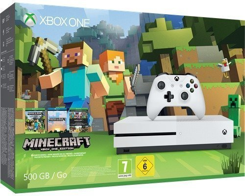 Microsoft Xbox One S 500 Gb Minecraft Bundle 500gb